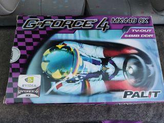Tarjeta Gráfica Gforce Mx440 8x