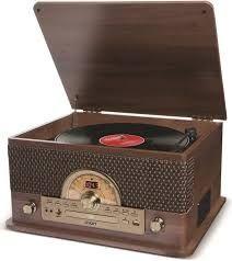 Cadena de música nueva ION 7 en 1 Vintage madera