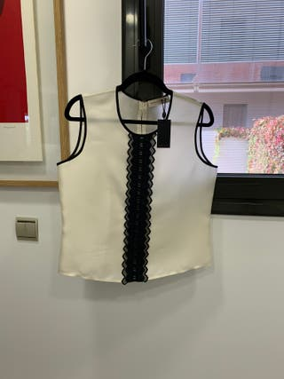 Blusa de seda alta costura Purificación García