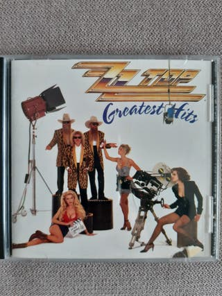 CD ZZ Top hits rock country