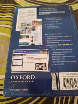 diccionario Oxford poket estudiantes de inglés