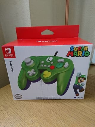 NUEVO mando Luigi Nintendo Switch