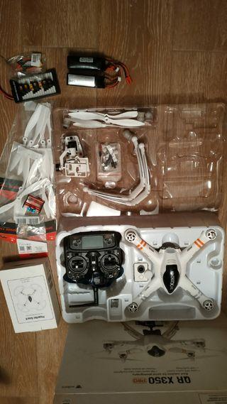 Drone Walkera QR x350 pro +ACCESORIOS