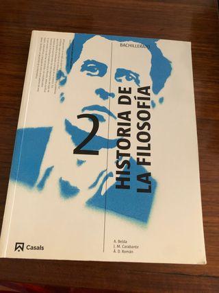 Libro 2 Bachillerato Historia de la Filosofía