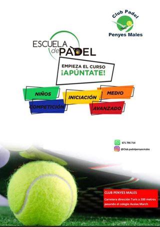 ¡¡CLASES DE PADEL PICASSENT!!
