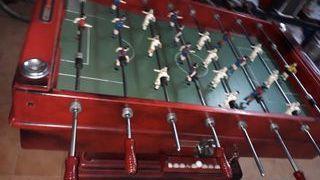 futbolín de bar