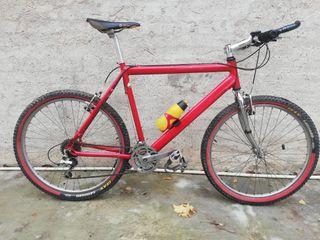 """Bicicleta de montaña 26"""" talla L Aluminio"""