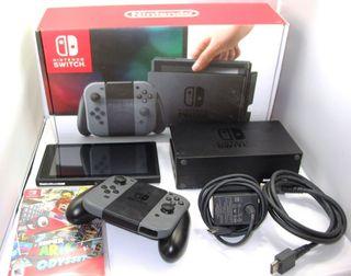 Pack Nintendo switch gris versión 2019