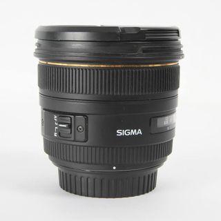 OBJETIVO SIGMA EX 50MM F/1.4 HSM CANON E342154