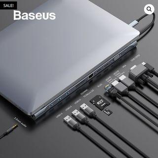 Baseus concentrador 11 in 1 Multi USB-C