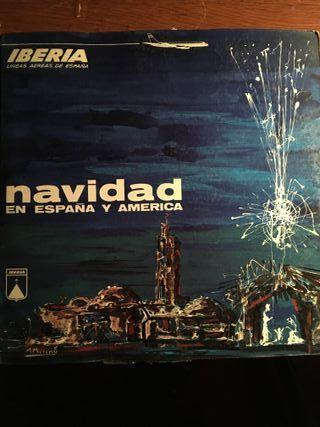 LP NAVIDAD EN ESPAÑA Y AMERICA - IBERIA