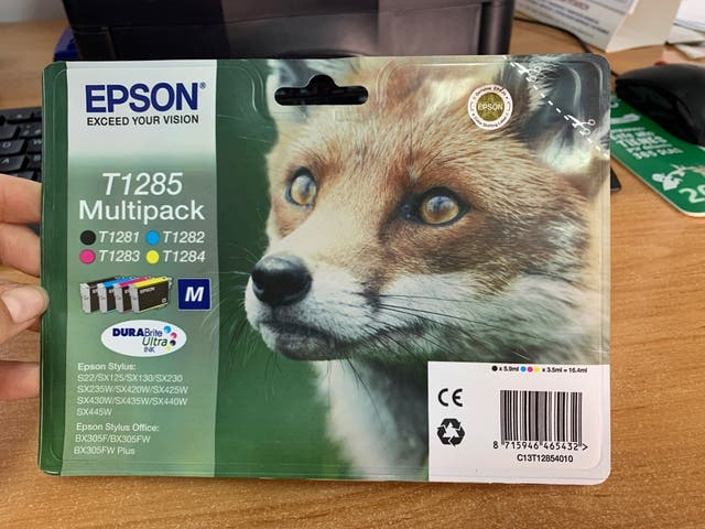 Multipack Epson T1285 4 Colores