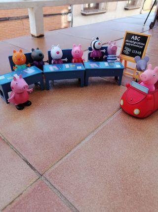 Pepa Pig en el colegio