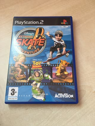 Juego PlayStation2 Disney Extreme Skate Adventure