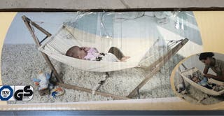 Hamaca mecedora bebé