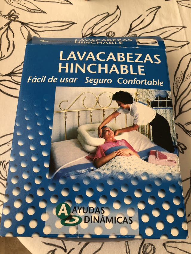 LAVACABEZA HINCHABLE