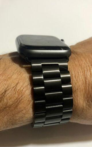 Correa acero negra para Apple Watch 42/44mm