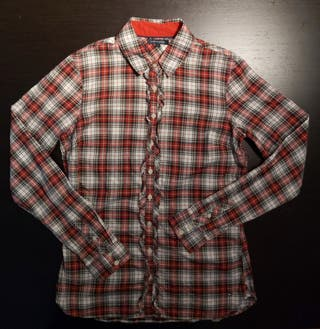 Camisa (blusa) de tartán, mujer, Tommy Hilfiger