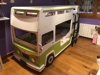 Litera infantil autobús