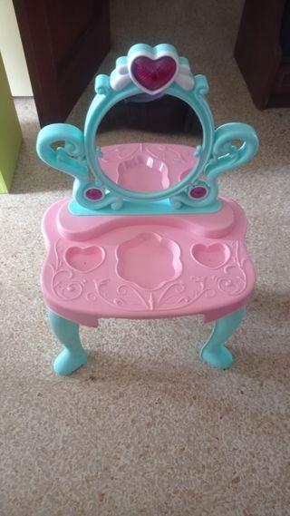 tocador mágico para princesas niñas