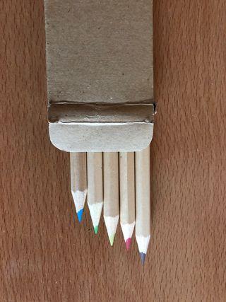 Lápices de colores nuevos