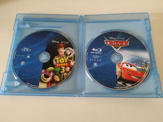 Blu Ray Cars y Toy Story 3