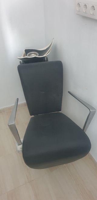 sillón de lavacabezas.