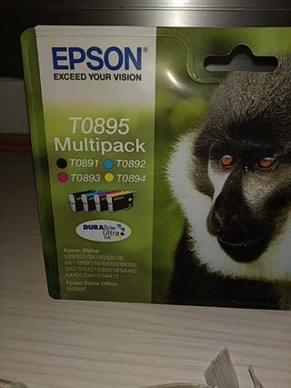 Cartuchos de impresora EPSON TO895 Multipack