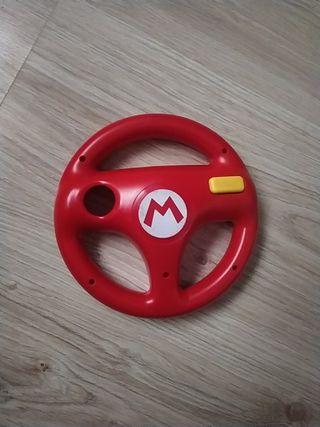 Volante original Nintendo Mario Kart rojo