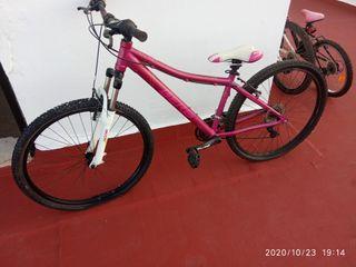 bicicleta de montaña de 27 de mujer