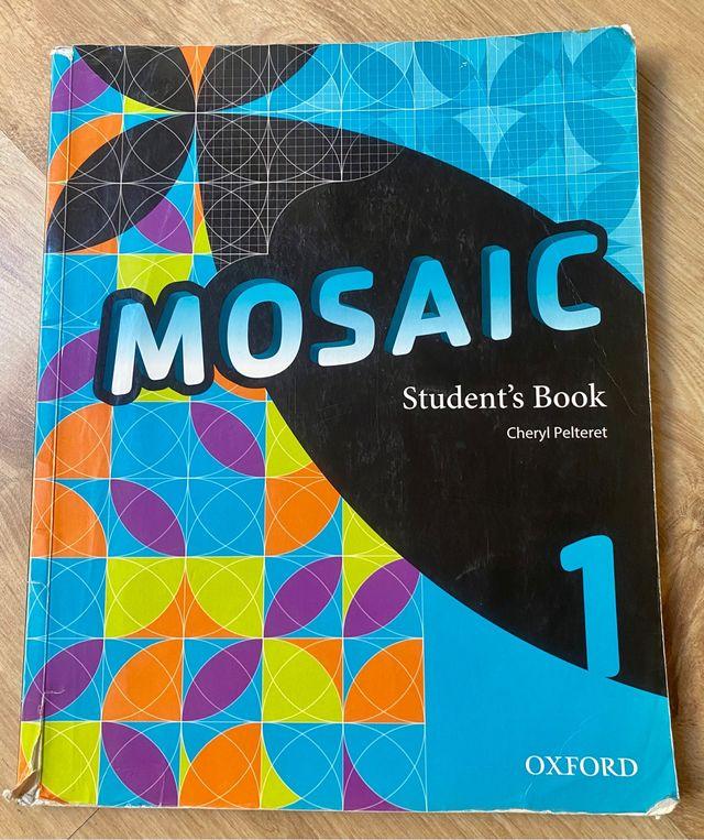 Libro inglés Mosaic 1 Student's Book Oxford