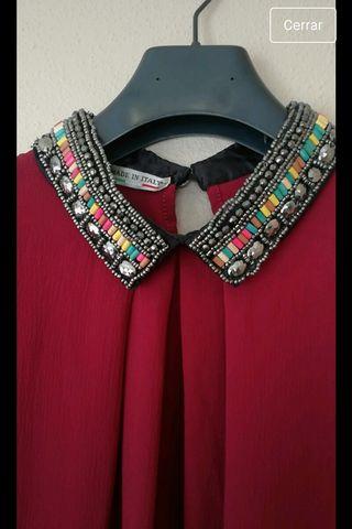 camisa cuello joya