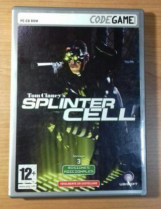 Juego PC Splinter Cell