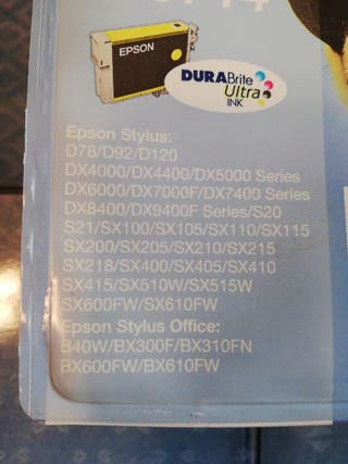 Consumibles impresora Epson