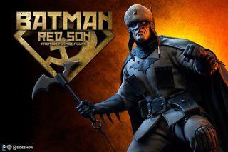 SIDESHOW BATMAN RED SON PREMIUM FORMAT