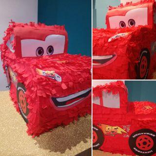 cumpleaños. cars