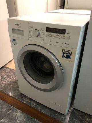 Lavadora Siemens 8 kilos 1200 rpm