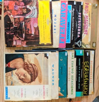 Discos de vinilo. Música clásica