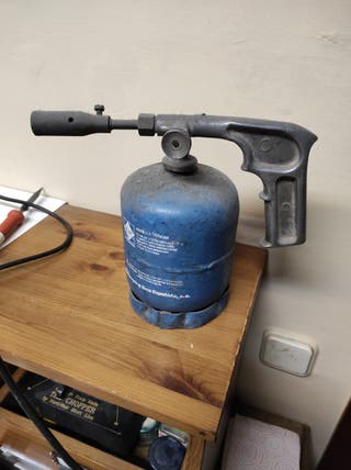 soplete bombona gas