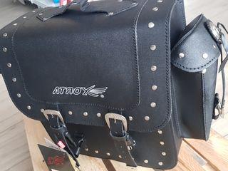 baúl moto custom SUZUKI KAWA HONDA