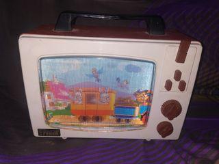 Antigua Televisión Feber con música.