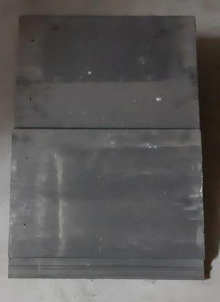 Teja plana Evolution de hormigon con lomera