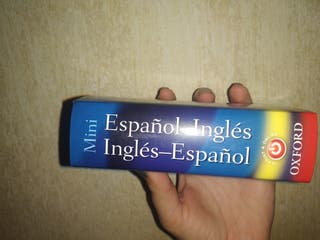Mini diccionario de inglés Oxford