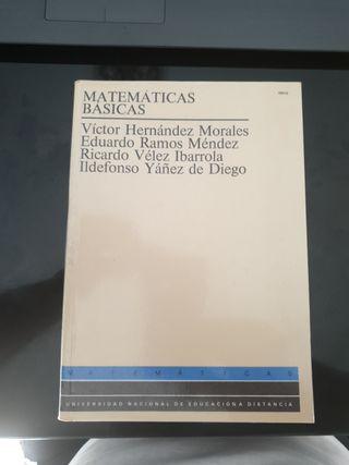 Matematicas basicas UNED