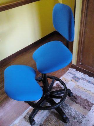 Silla ergonómica pc despacho regulable como nueva