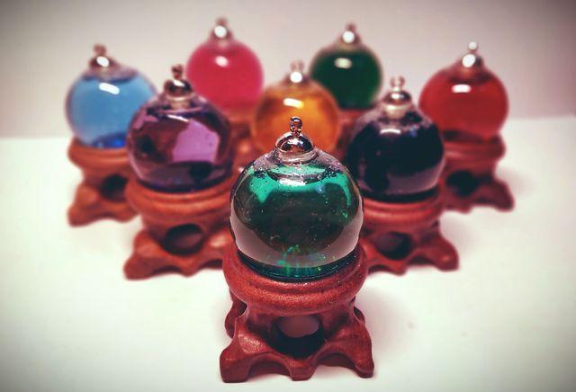 Bola mágica de cristal para bruja (HALLOWEEN)