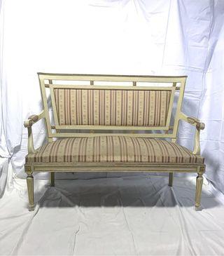 Estilo Luis XVI 1 sofá 2 sillones 6 sillas