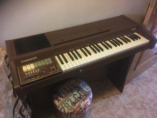 Órgano teclado eléctrico mascot