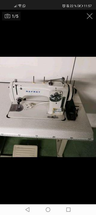 Lote 5 máquinas de coser industriales