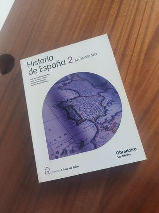 Libro Historia de España 2º de Bac